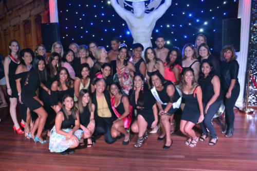 Hens group photo
